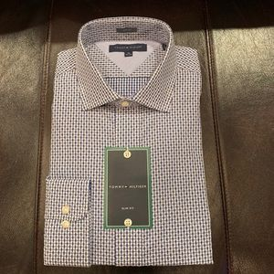 Tommy Hilfiger slim fit men's shirt size16 34-35